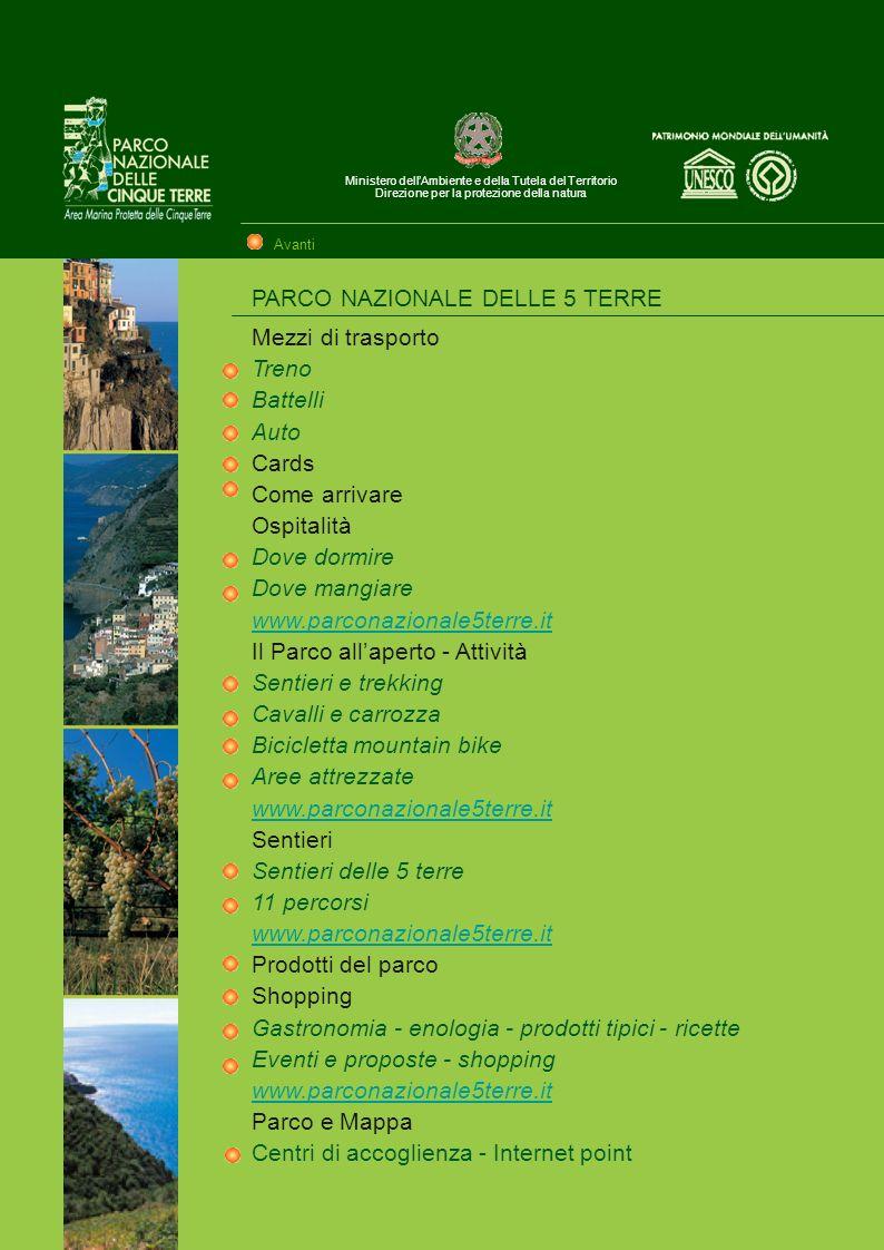 PARCO NAZIONALE DELLE 5 TERRE