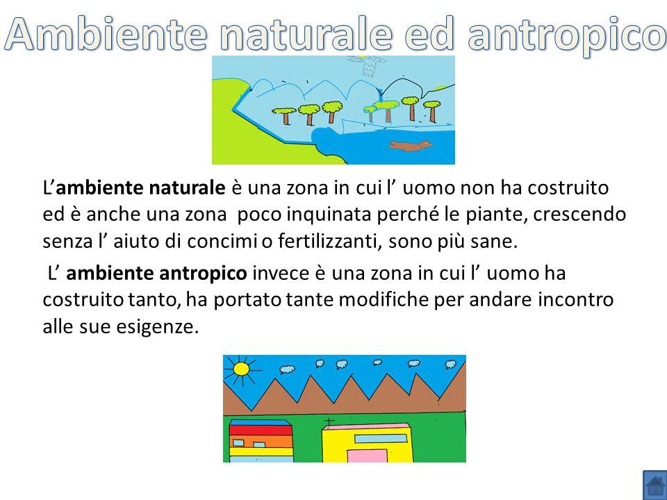 Ambiente naturale ed antropico