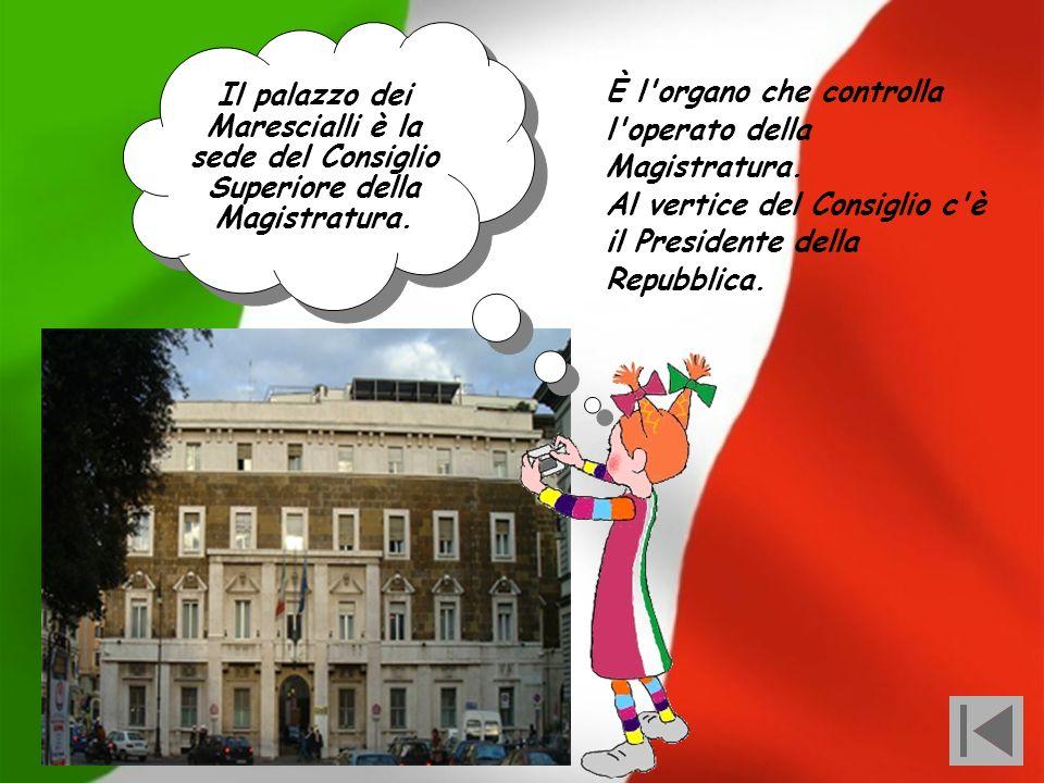Marescialli è la sede del Consiglio Superiore della Magistratura.