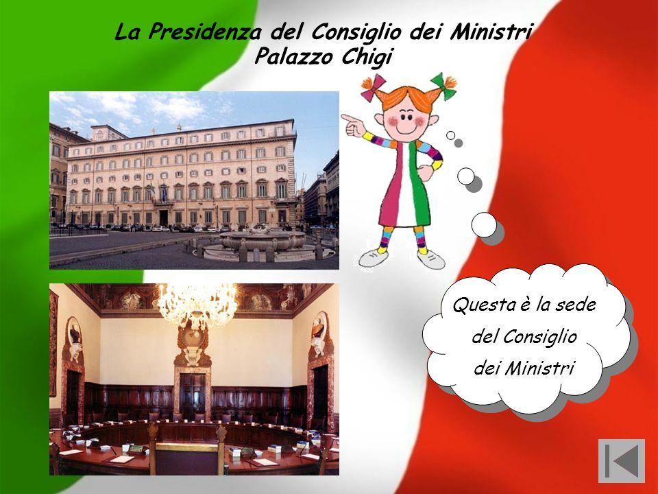 La Presidenza del Consiglio dei Ministri
