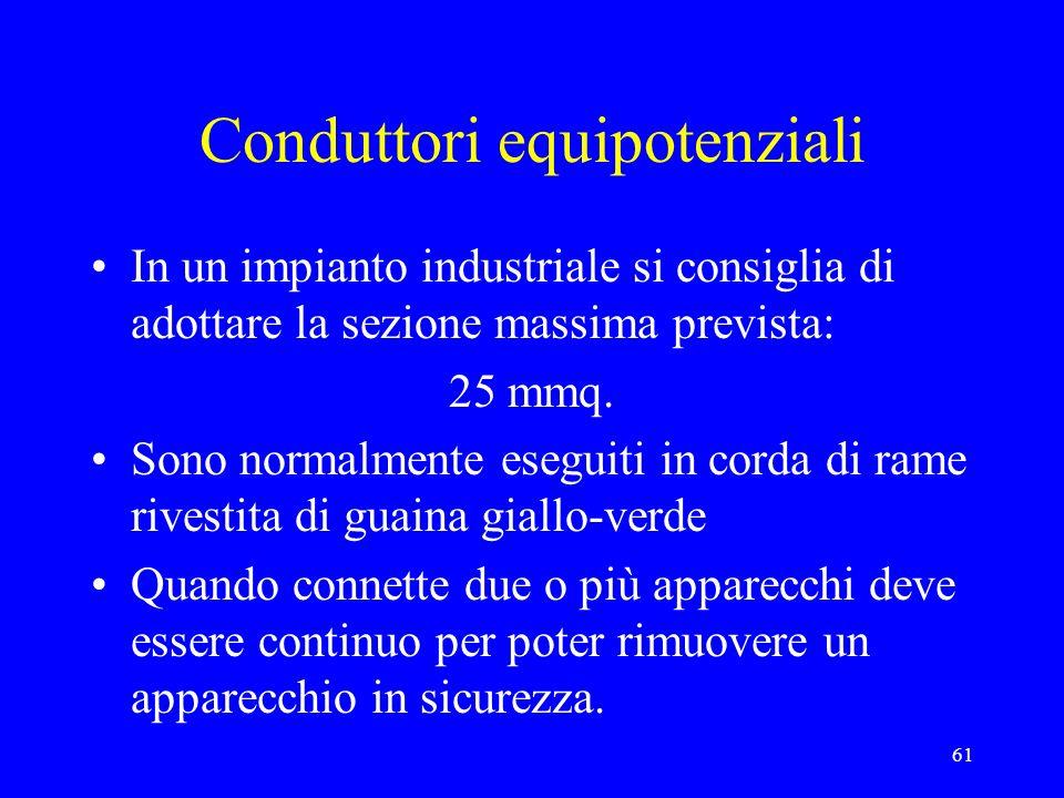 Conduttori equipotenziali