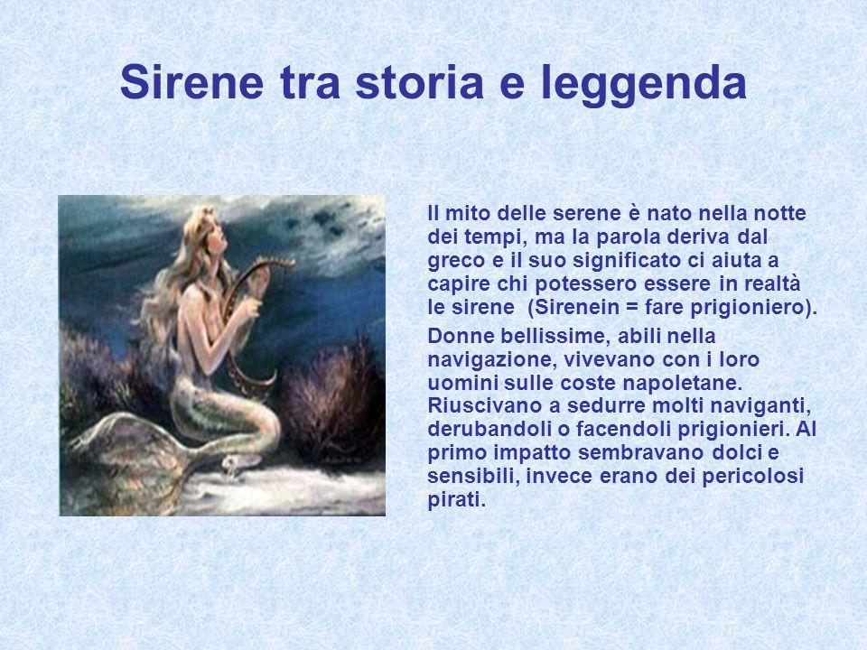 Sirene tra storia e leggenda