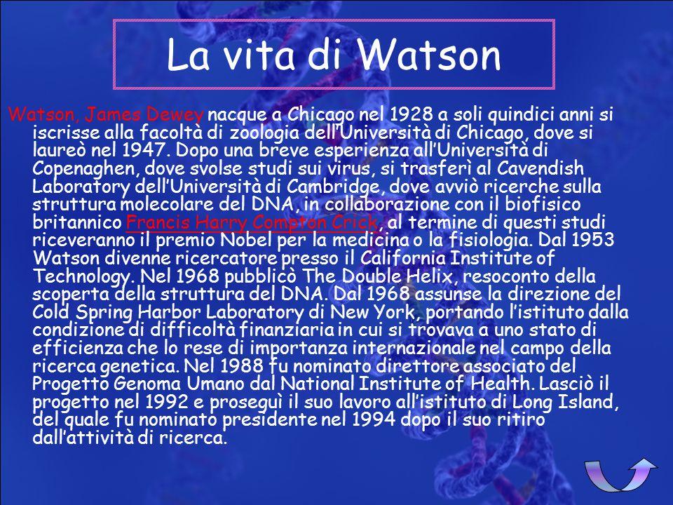 La vita di Watson