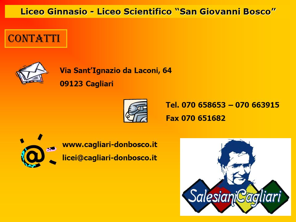 Liceo Ginnasio - Liceo Scientifico San Giovanni Bosco