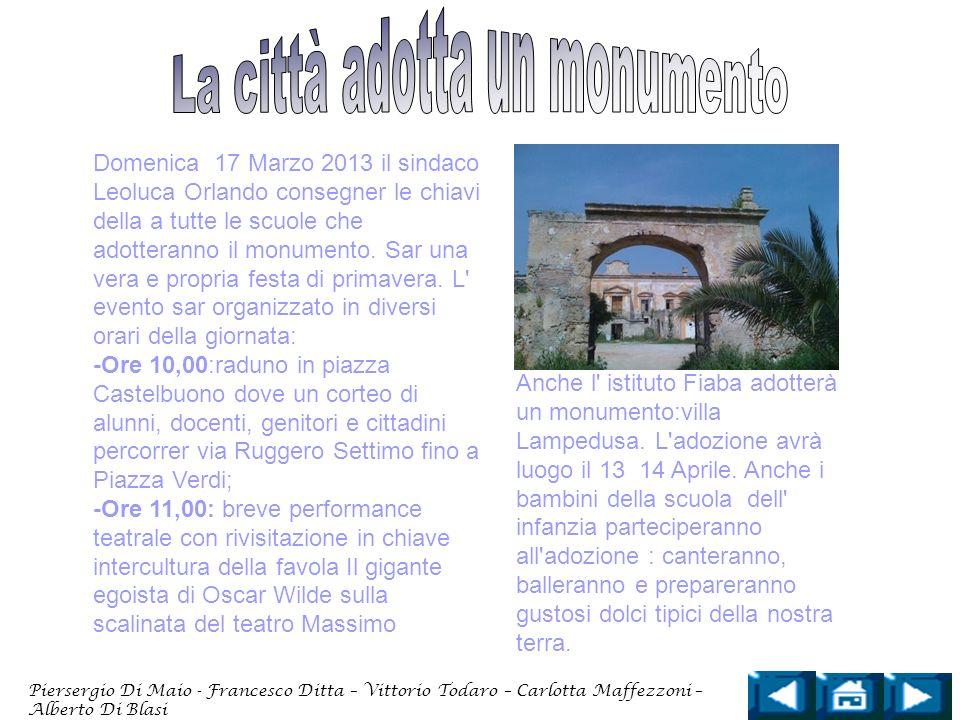 La città adotta un monumento