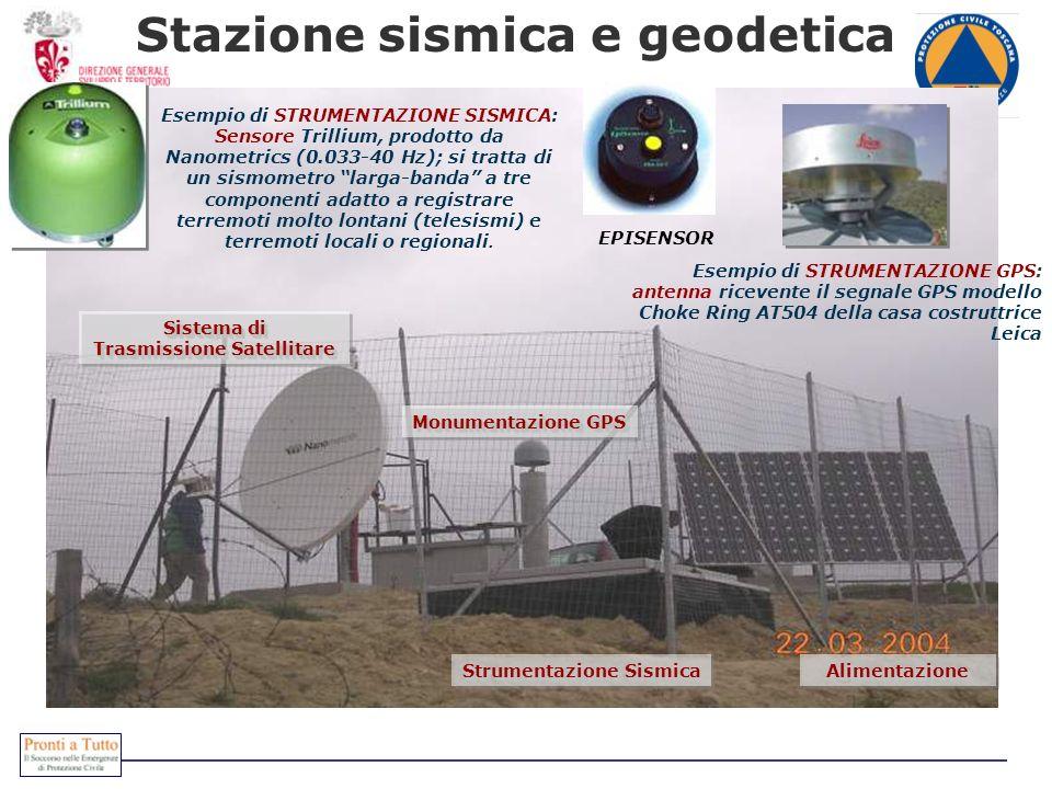 Stazione sismica e geodetica
