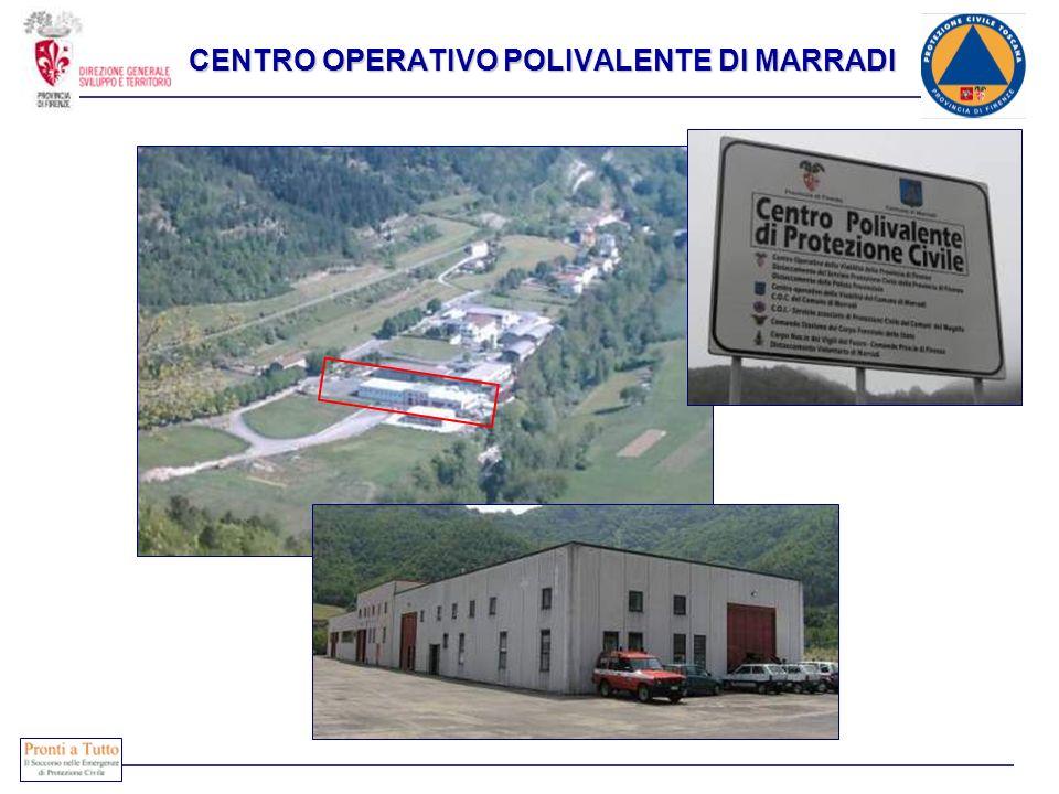 CENTRO OPERATIVO POLIVALENTE DI MARRADI