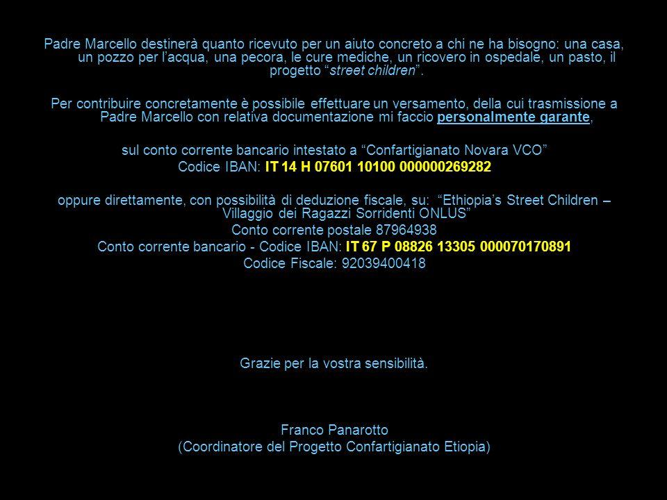 sul conto corrente bancario intestato a Confartigianato Novara VCO