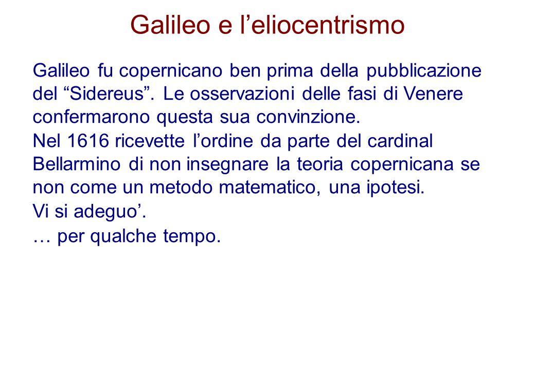 Galileo e l'eliocentrismo