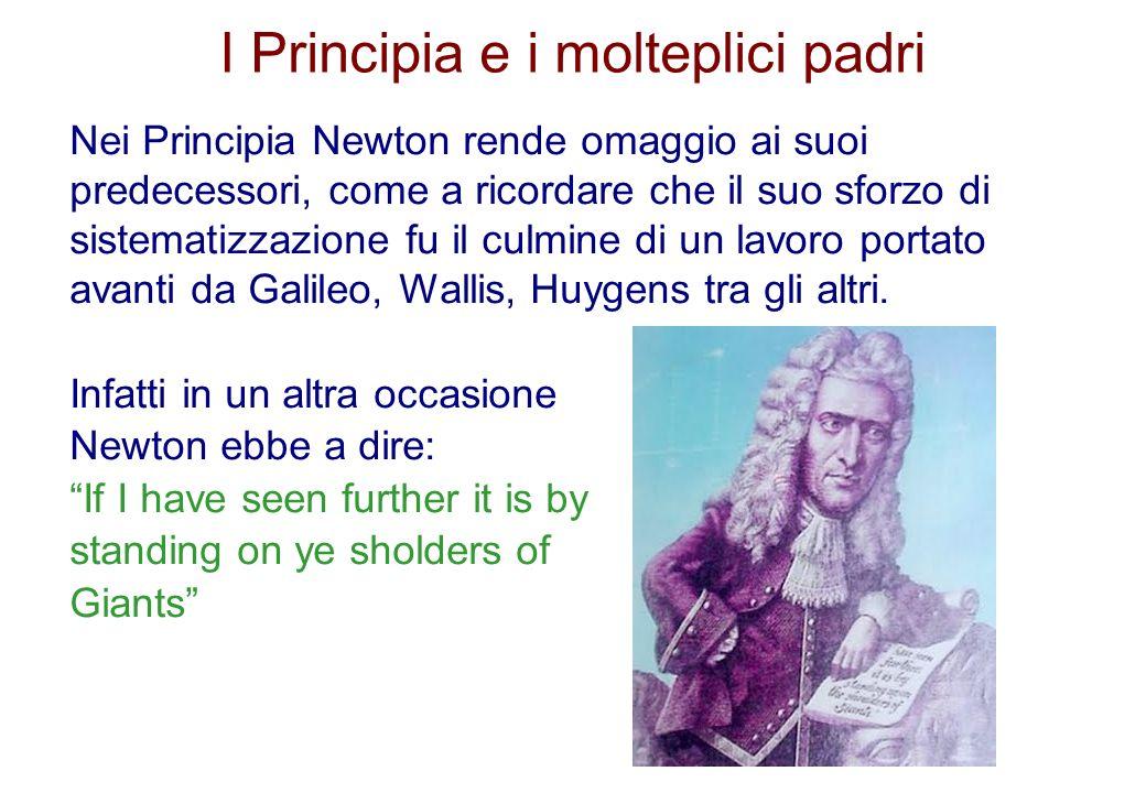 I Principia e i molteplici padri