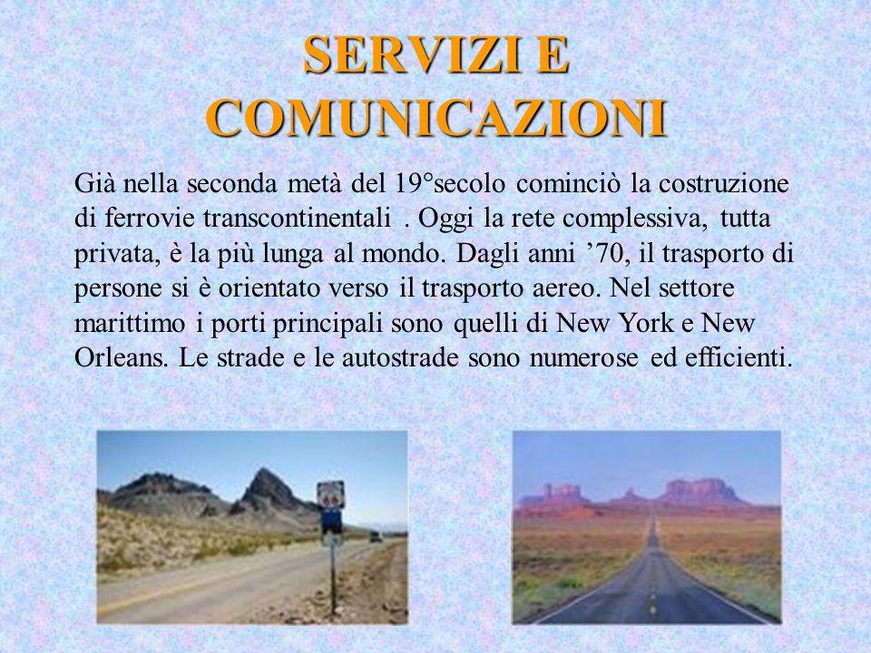 SERVIZI E COMUNICAZIONI