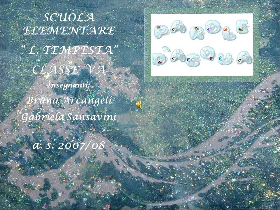 SCUOLA ELEMENTARE L. TEMPESTA CLASSE VA a. s. 2007/08