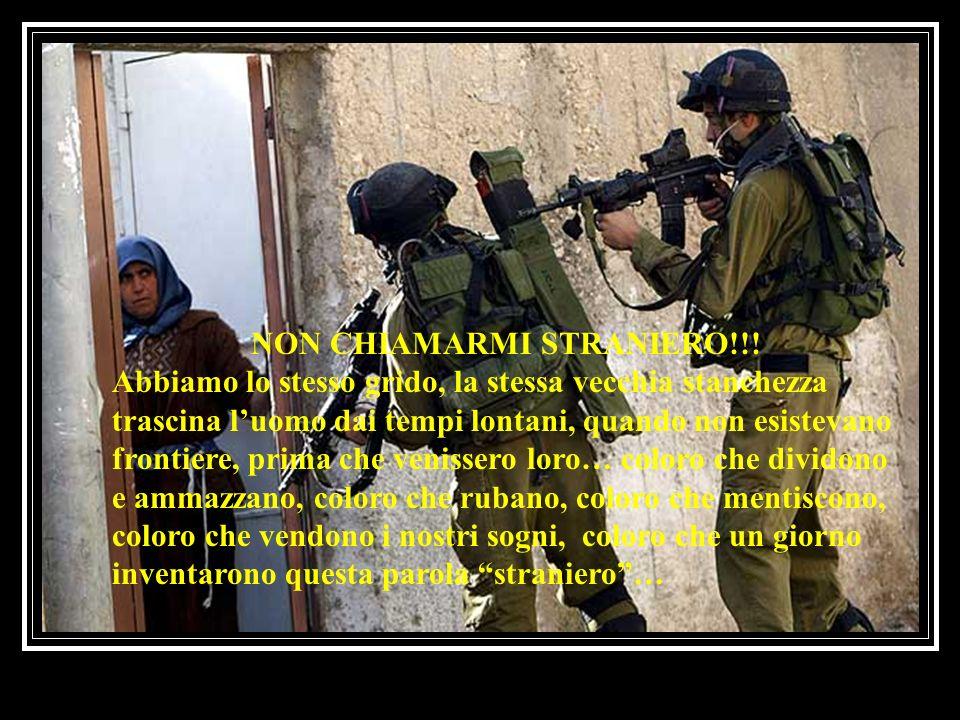 NON CHIAMARMI STRANIERO!!!