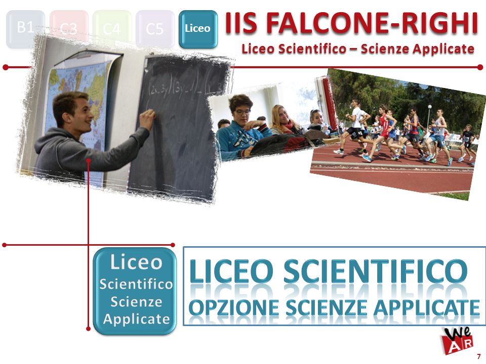 Liceo Scientifico Scienze Applicate