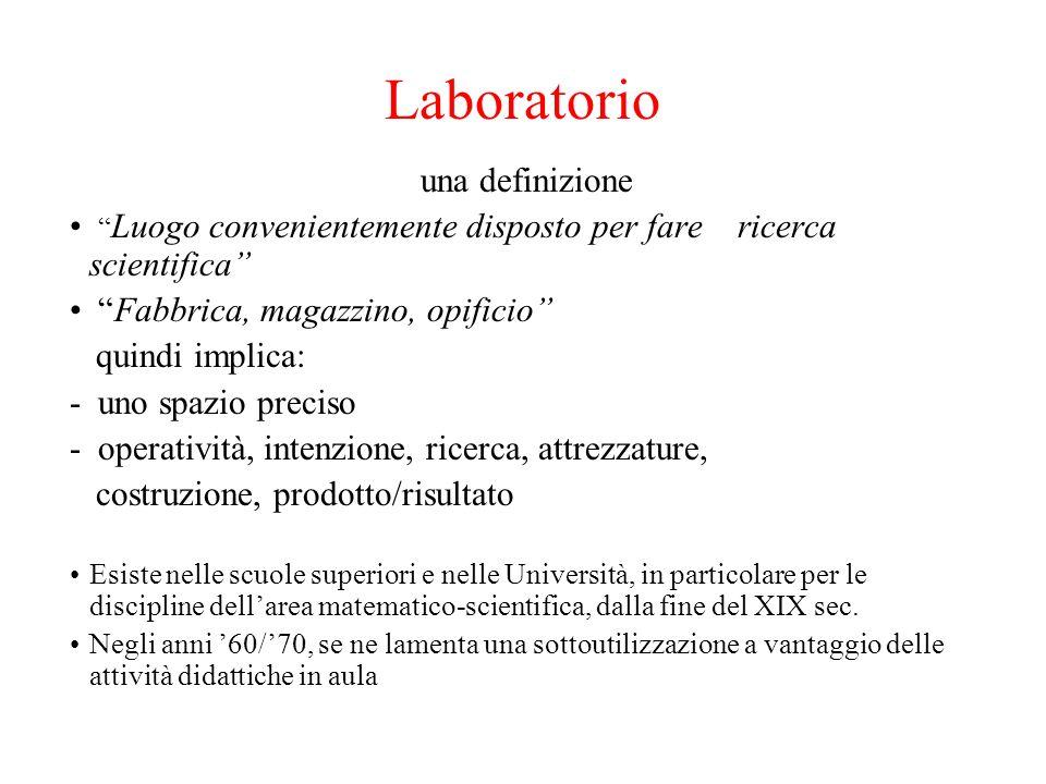 Laboratorio una definizione