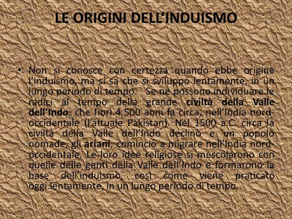 LE ORIGINI DELL'INDUISMO