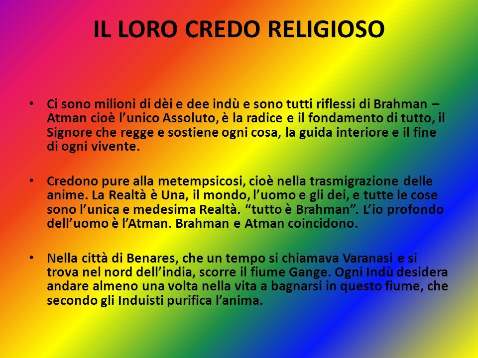 IL LORO CREDO RELIGIOSO