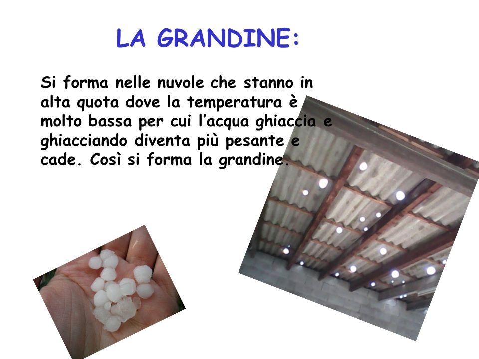 LA GRANDINE: