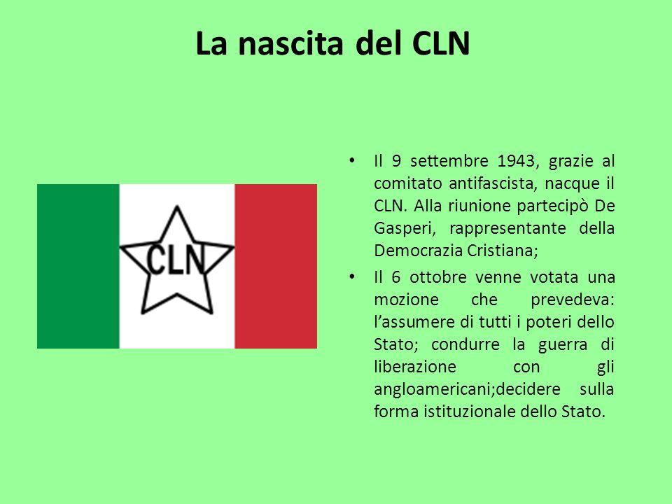 La nascita del CLN