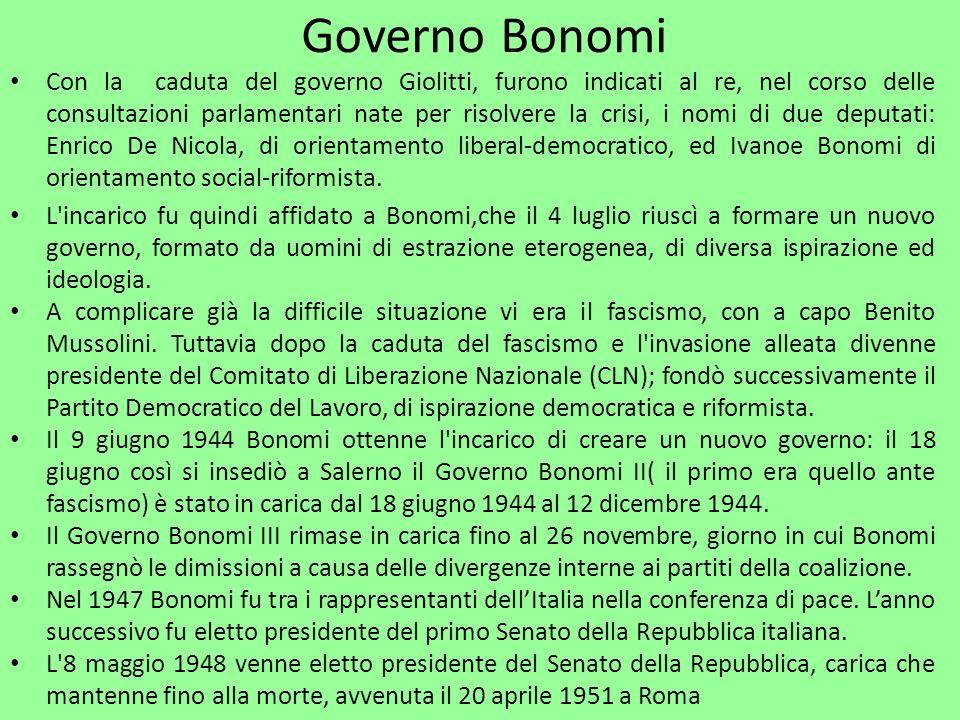 Governo Bonomi