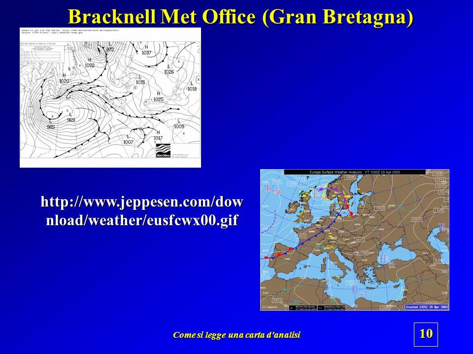 Bracknell Met Office (Gran Bretagna)