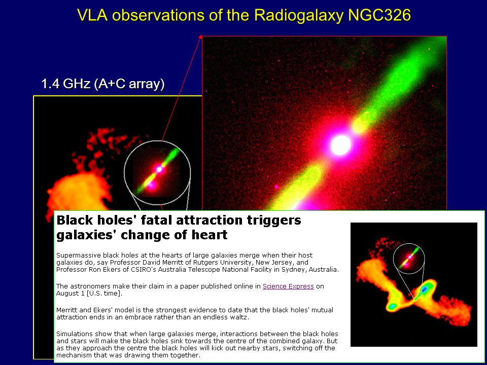 VLA observations of the Radiogalaxy NGC326