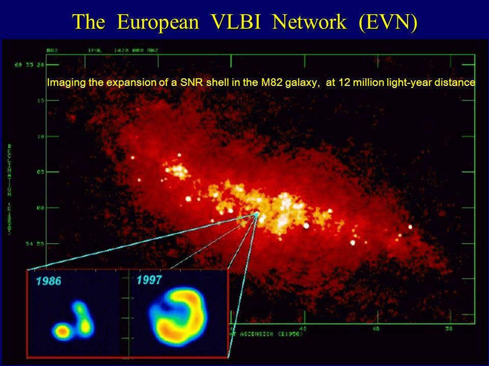 The European VLBI Network (EVN)