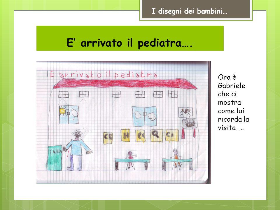 E' arrivato il pediatra….