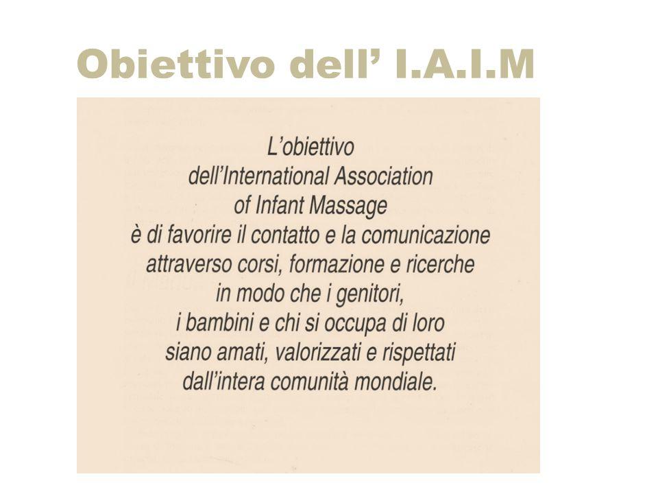 Obiettivo dell' I.A.I.M