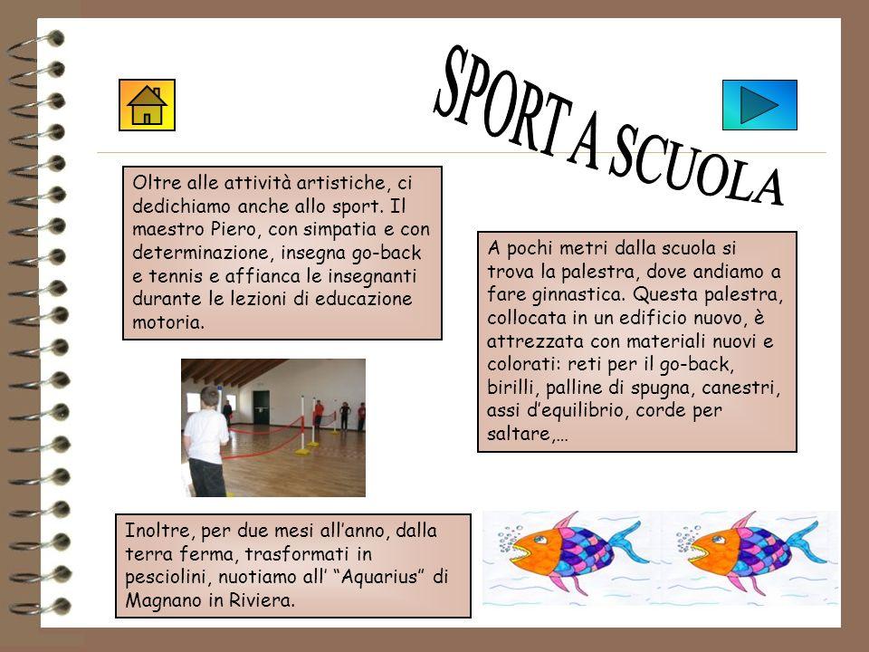 SPORT A SCUOLA Sport a scuola