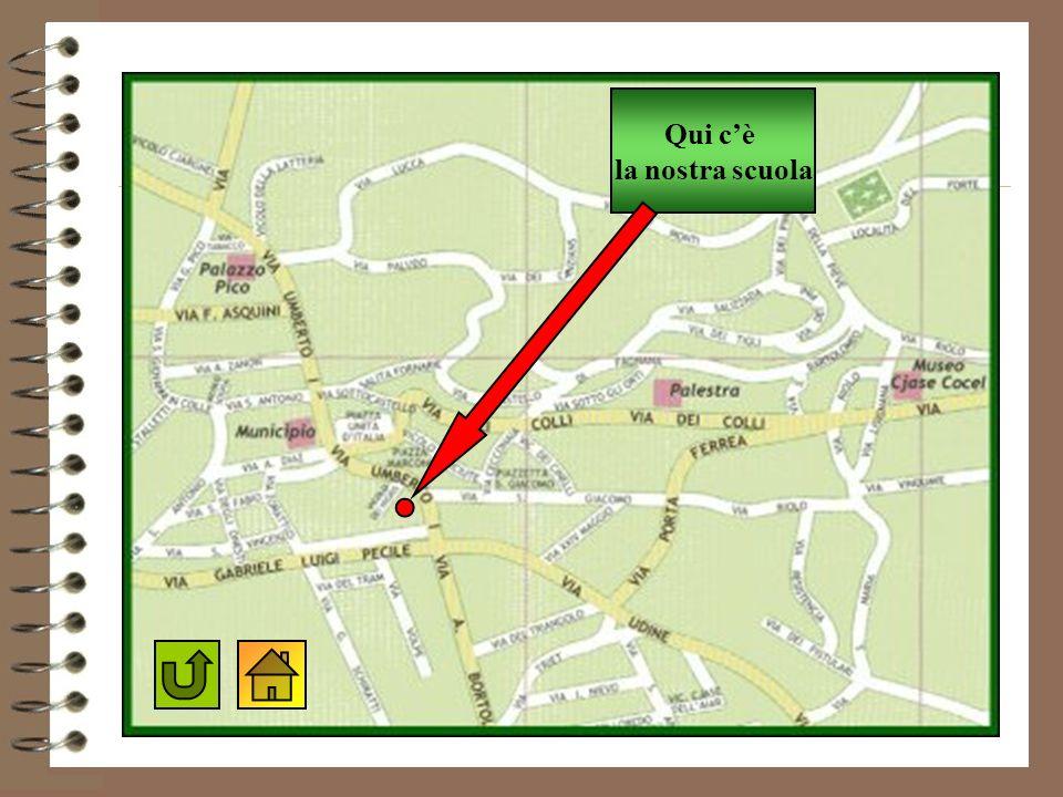 Qui c'è la nostra scuola Mappa di Fagagna