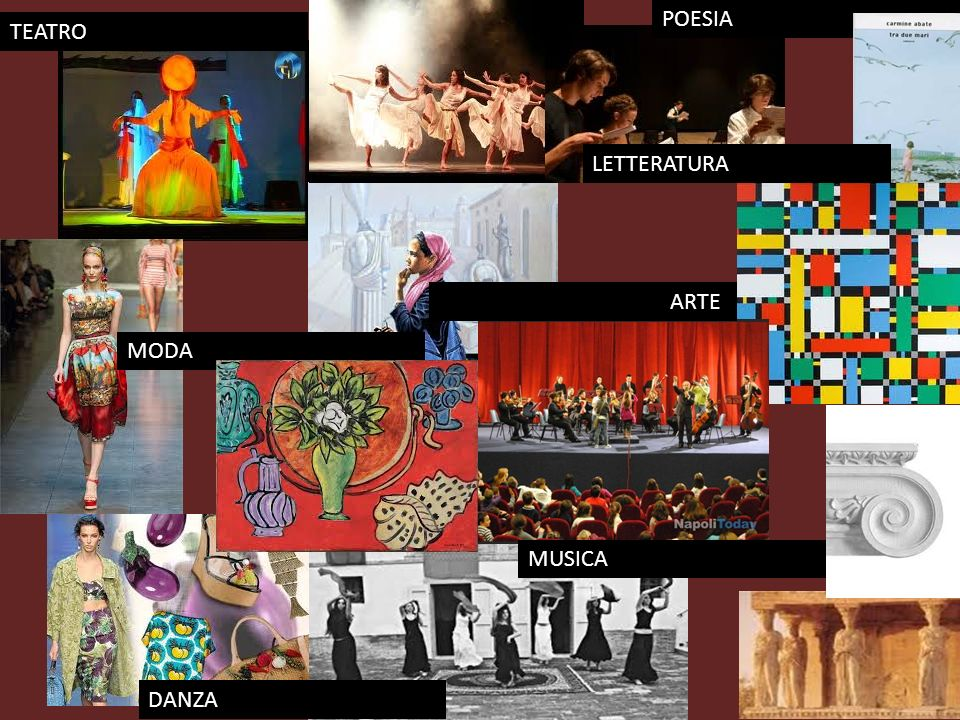 POESIA TEATRO LETTERATURA ARTE MODA MUSICA DANZA