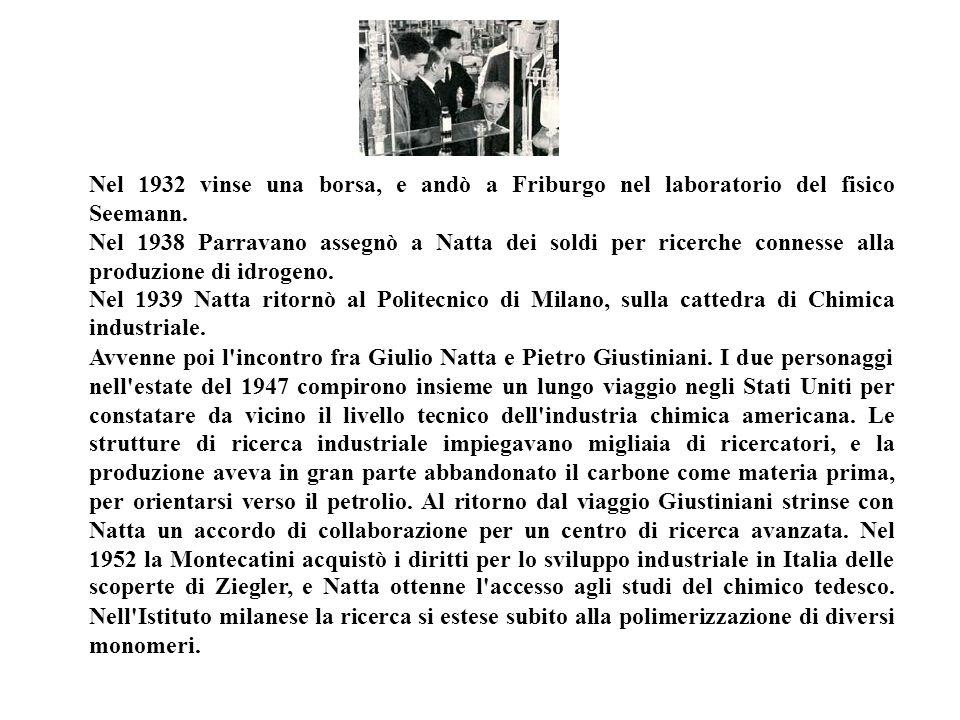 Nel 1932 vinse una borsa, e andò a Friburgo nel laboratorio del fisico Seemann.