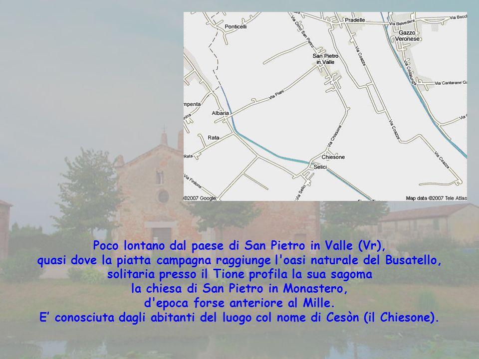 Poco lontano dal paese di San Pietro in Valle (Vr),