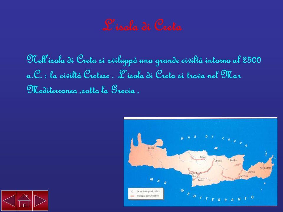 L'isola di Creta