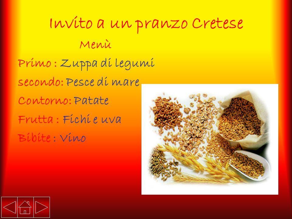 Invito a un pranzo Cretese