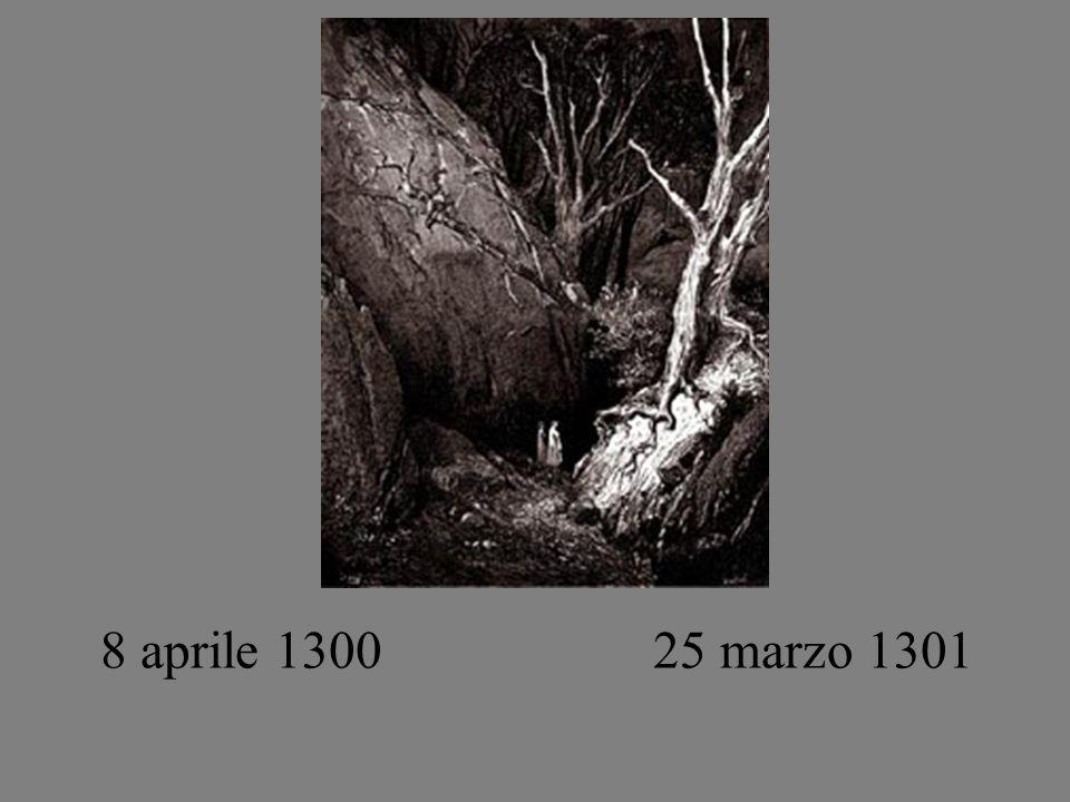 8 aprile 1300 25 marzo 1301