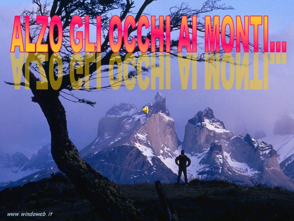 ALZO GLI OCCHI AI MONTI...