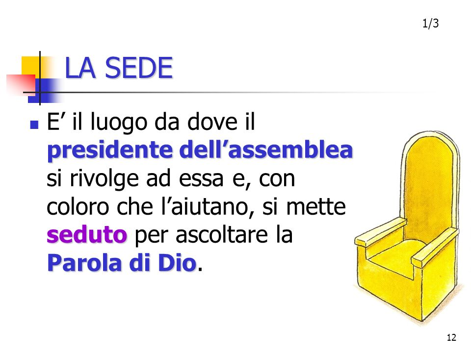LA SEDE1/3.