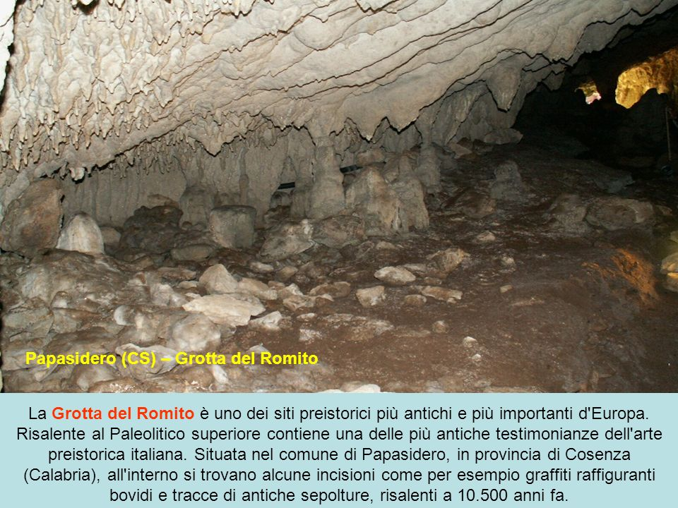 Papasidero (CS) – Grotta del Romito