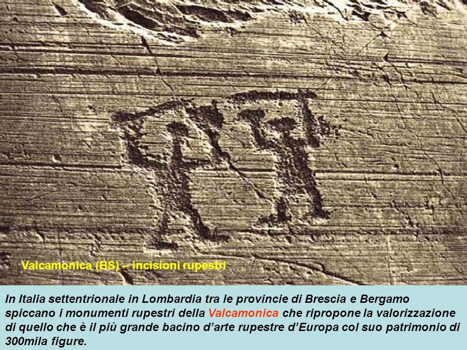 Valcamonica (BS) – incisioni rupestri