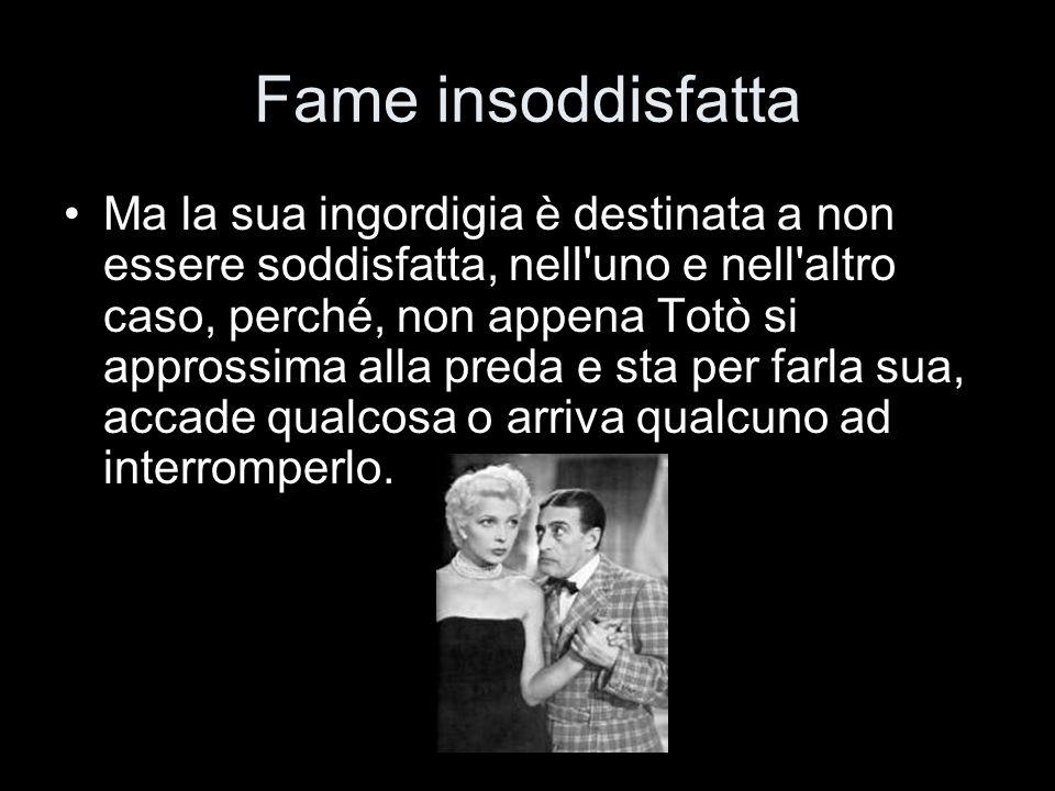 Fame insoddisfatta