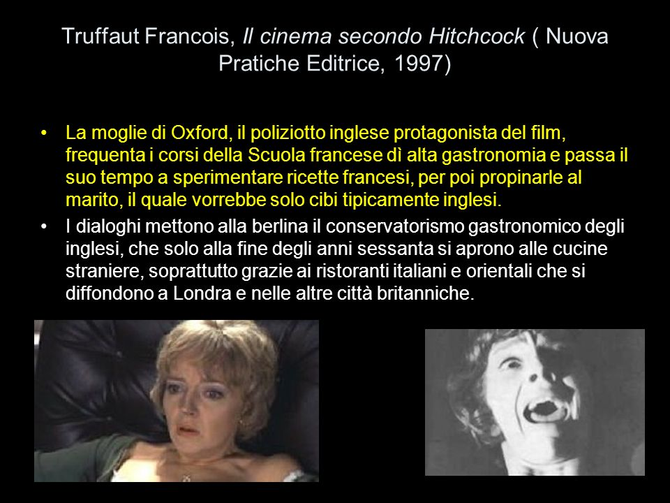 Truffaut Francois, Il cinema secondo Hitchcock ( Nuova Pratiche Editrice, 1997)
