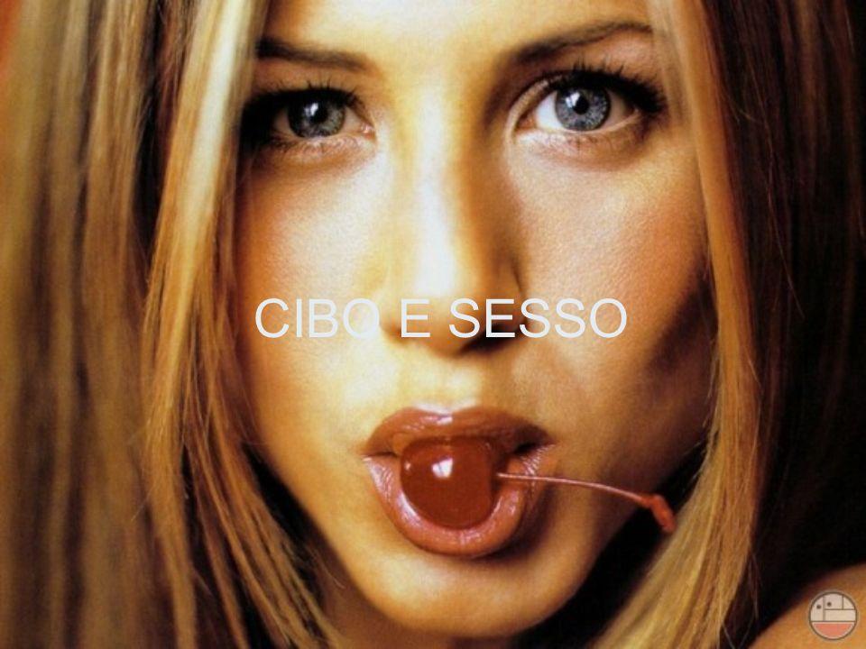 CIBO E SESSO