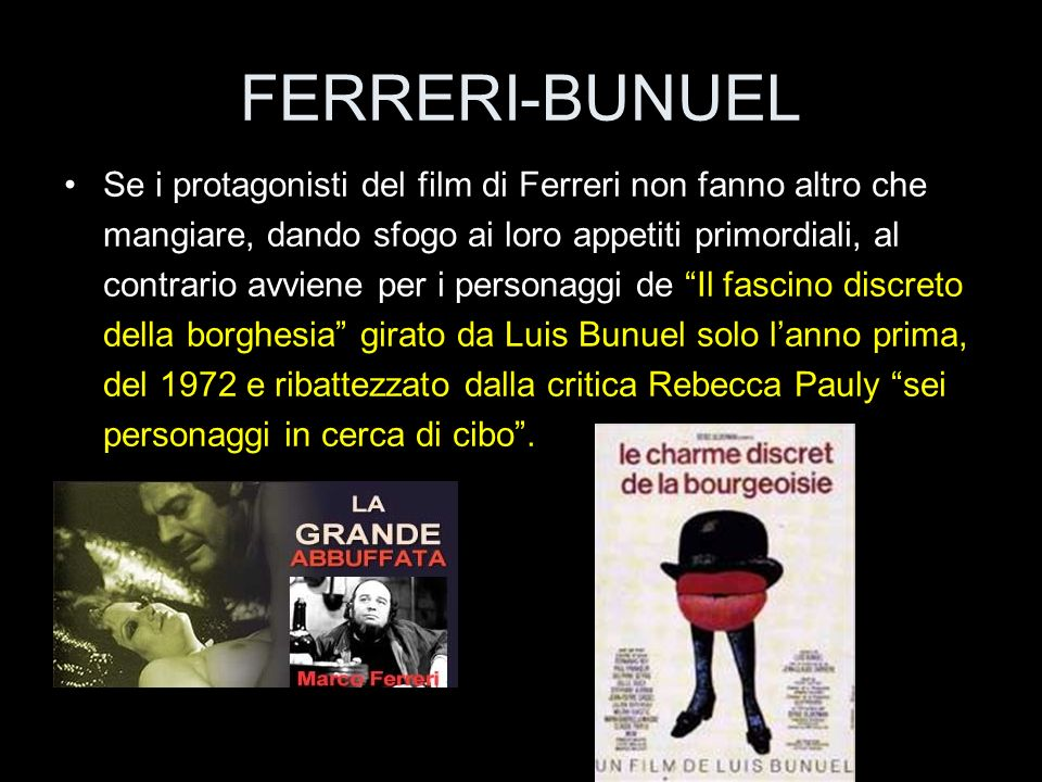FERRERI-BUNUEL