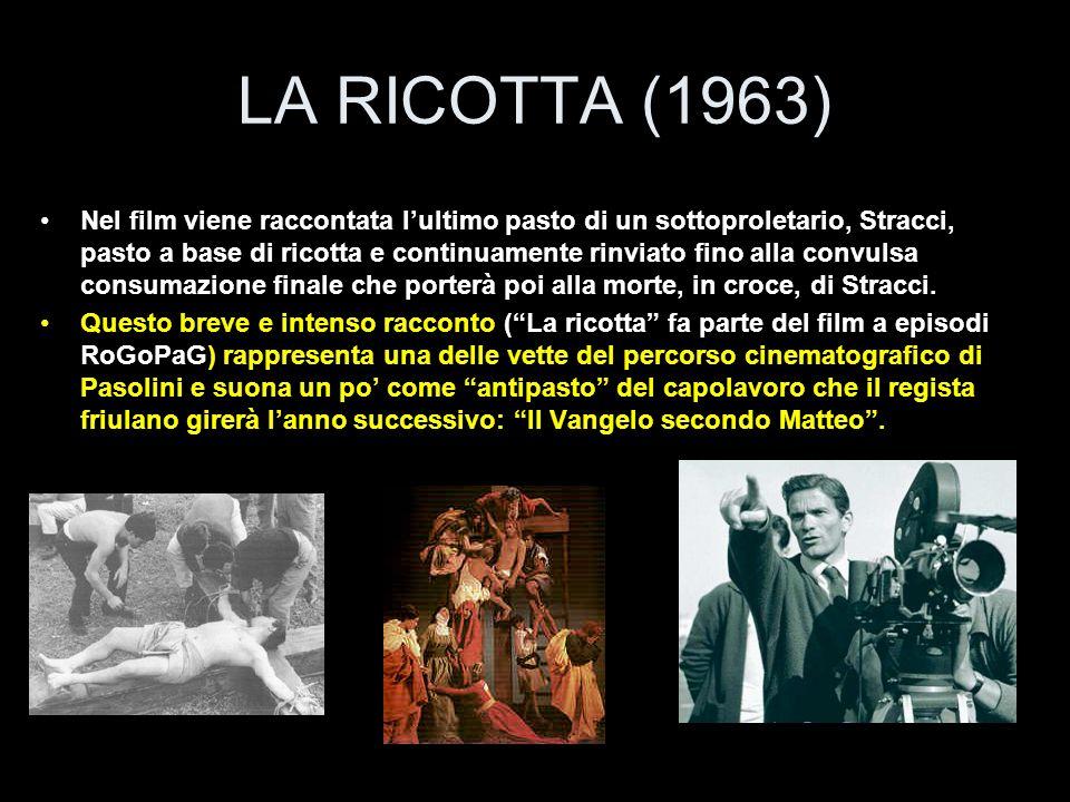 LA RICOTTA (1963)