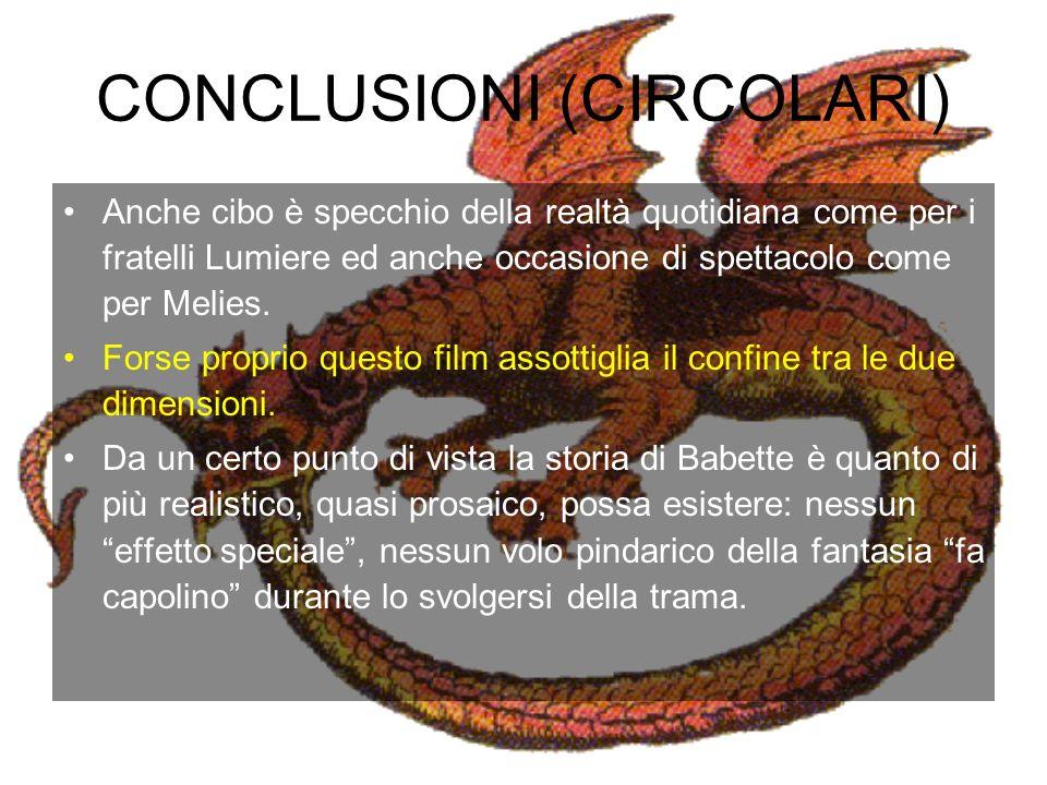 CONCLUSIONI (CIRCOLARI)