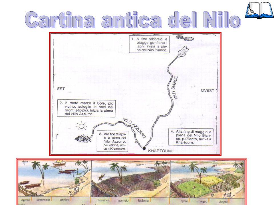 Cartina antica del Nilo