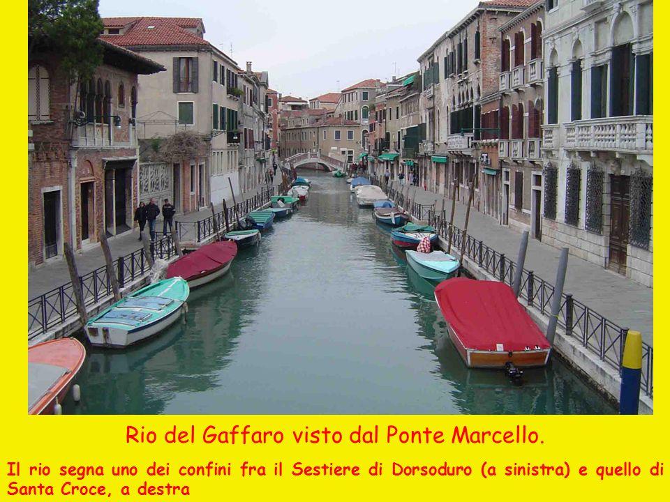 Rio del Gaffaro visto dal Ponte Marcello.