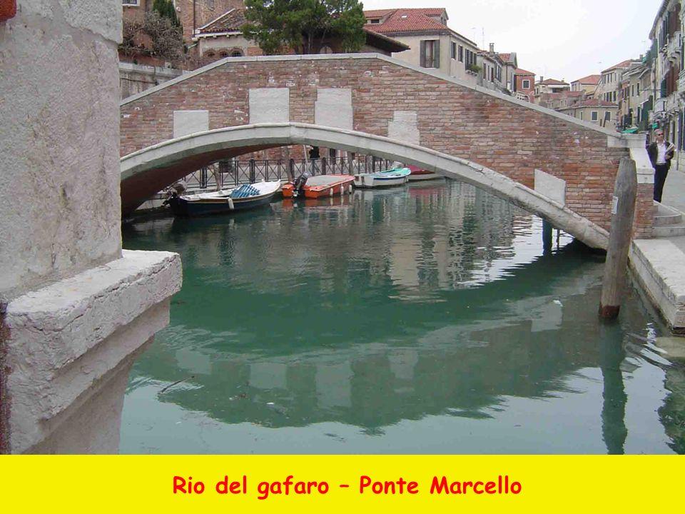 Rio del gafaro – Ponte Marcello